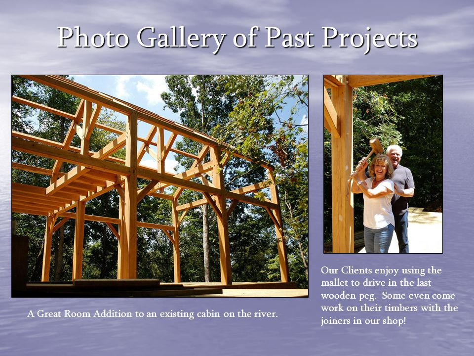 Photo Gallery of Past Projects