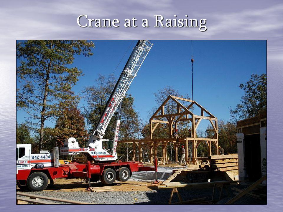 Crane at a Raising