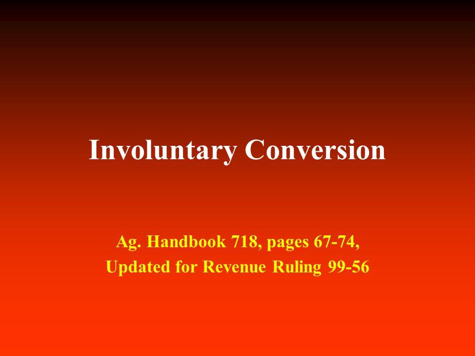 Involuntary Conversion