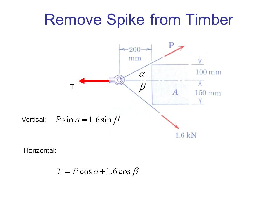 Remove Spike from Timber