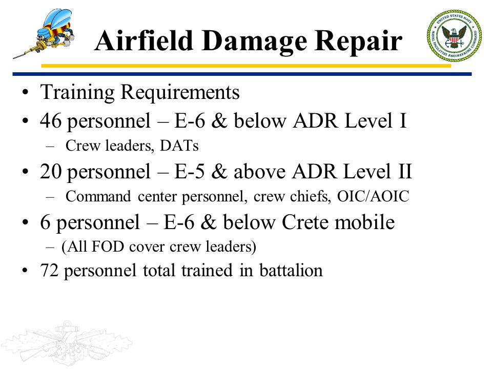 Airfield Damage Repair