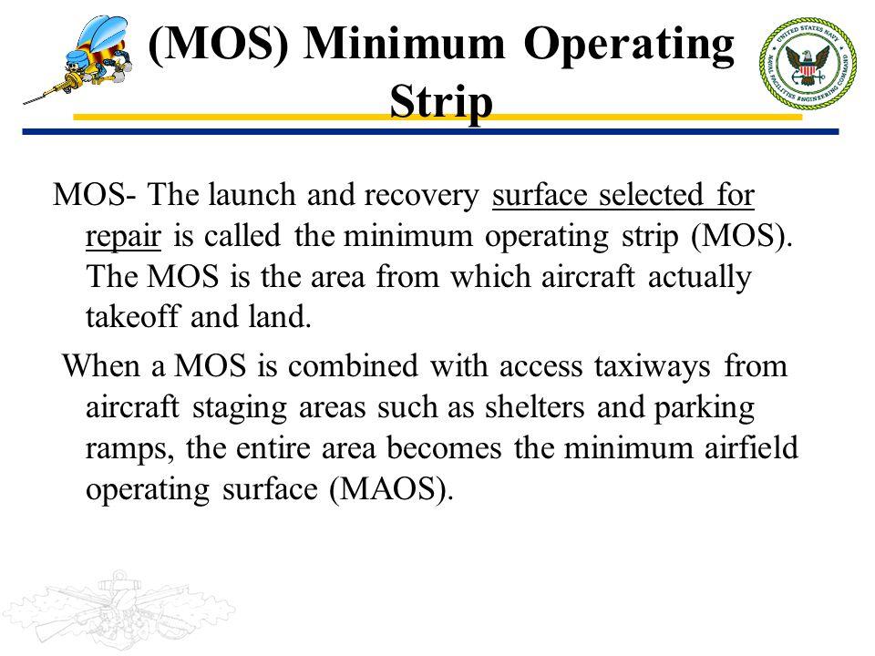 (MOS) Minimum Operating Strip