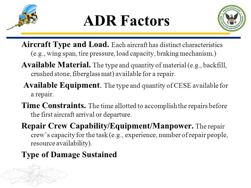 ADR Factors