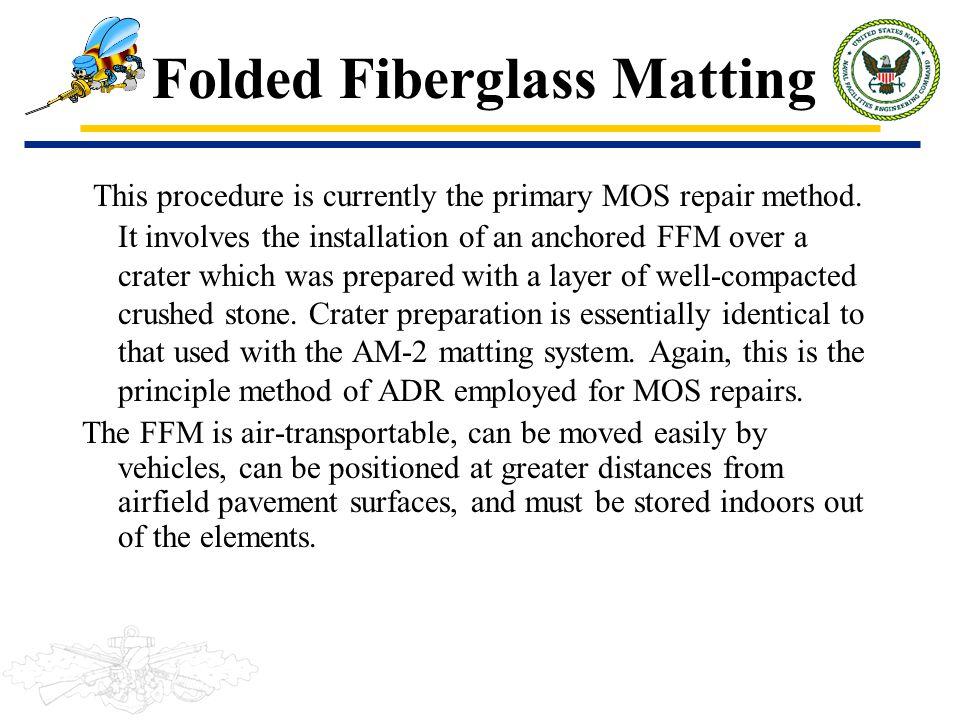 Folded Fiberglass Matting