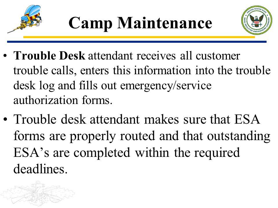 Camp Maintenance
