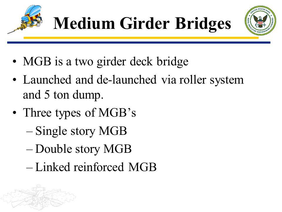 Medium Girder Bridges MGB is a two girder deck bridge