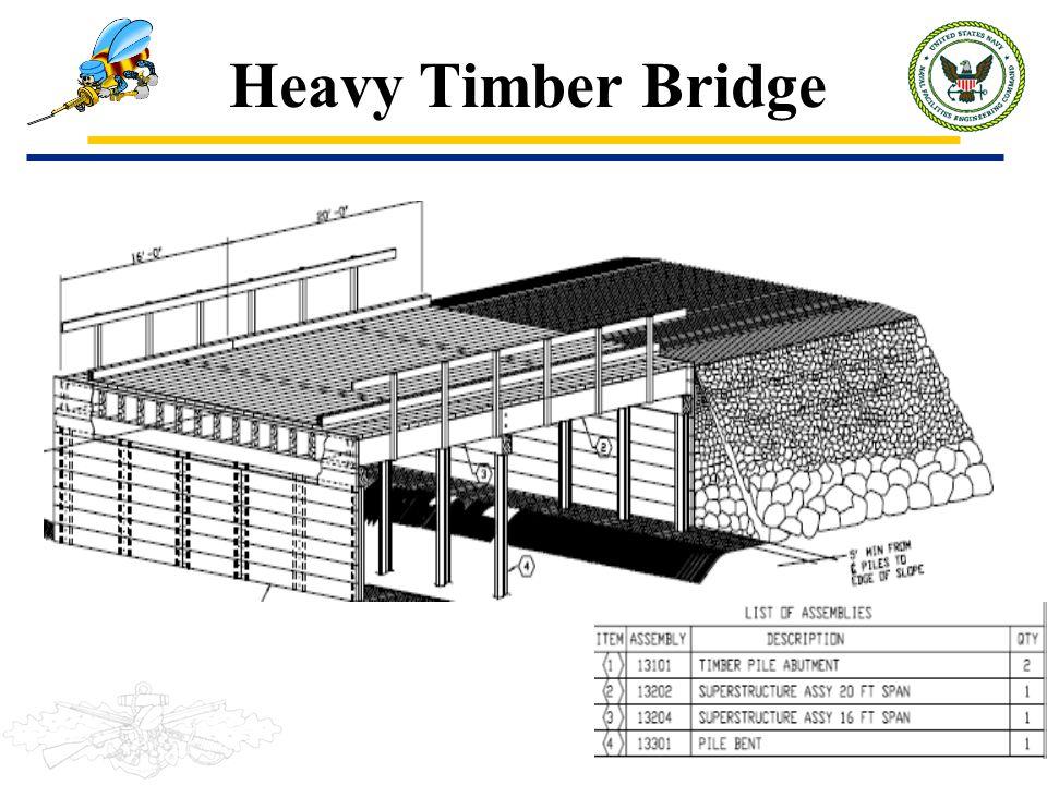 Heavy Timber Bridge