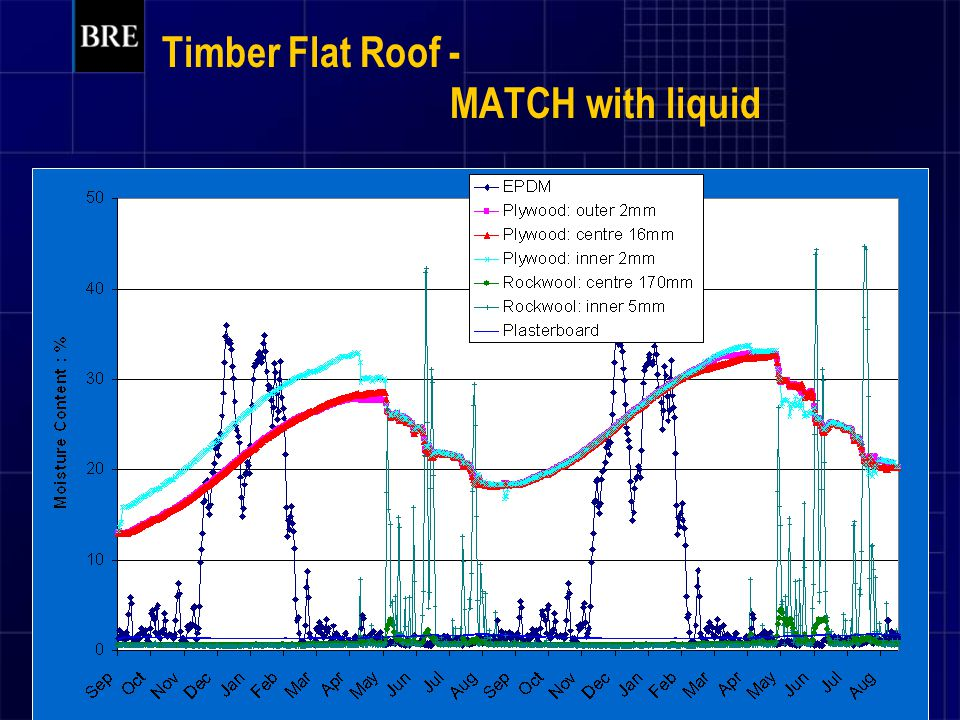 Timber Flat Roof - MATCH with liquid