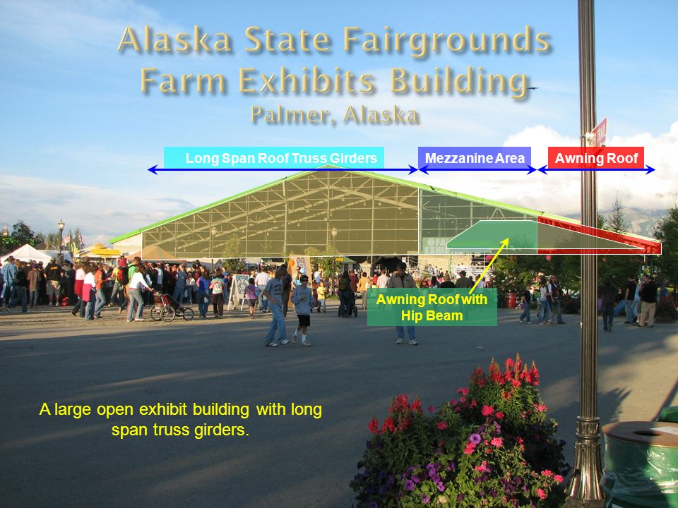Alaska State Fairgrounds Farm Exhibits Building Palmer, Alaska