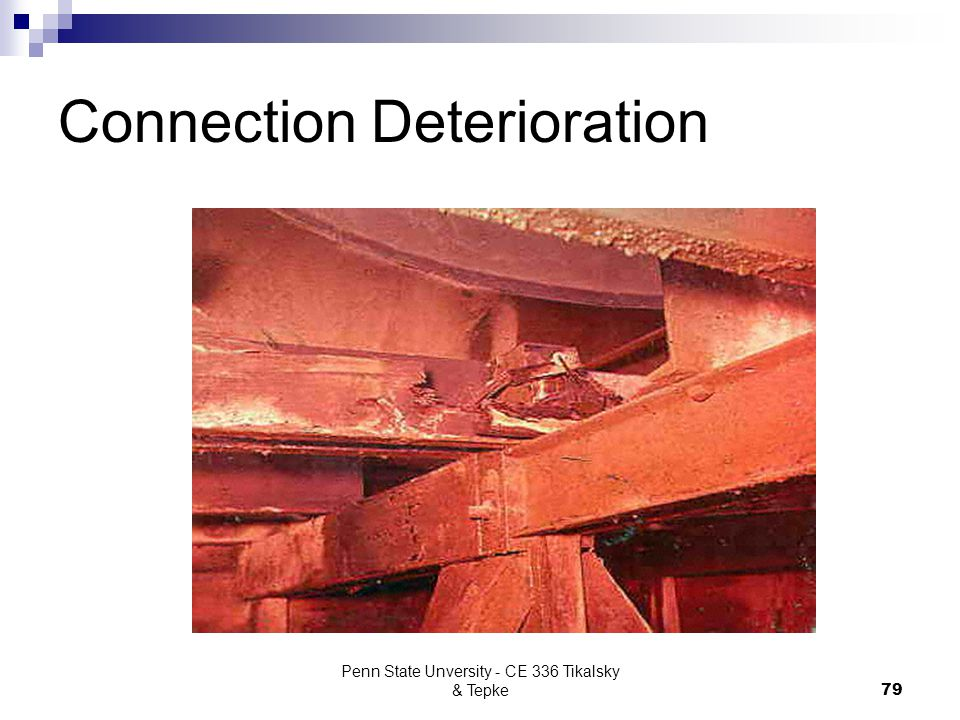 Connection Deterioration