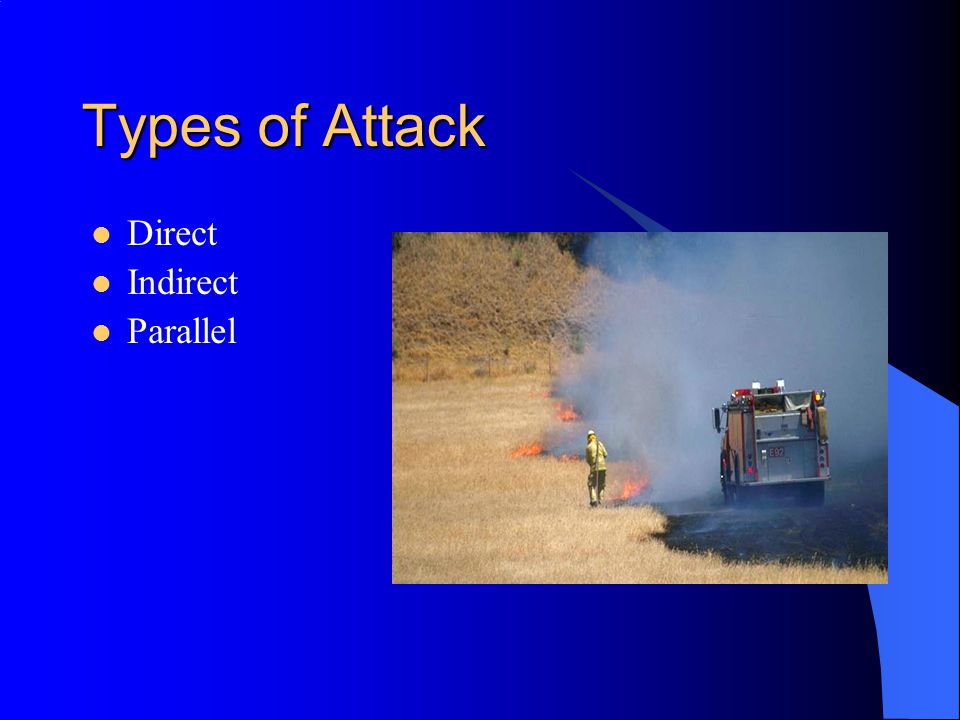 Types of Attack Direct Indirect Parallel