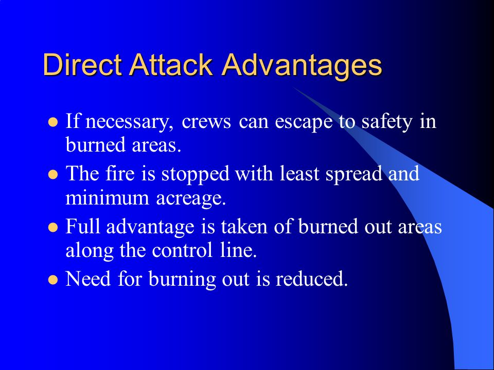 Direct Attack Advantages