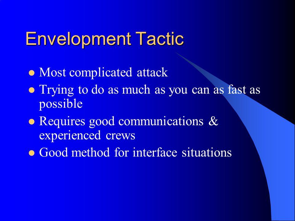 Envelopment Tactic Most complicated attack