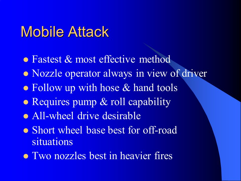 Mobile Attack Fastest & most effective method