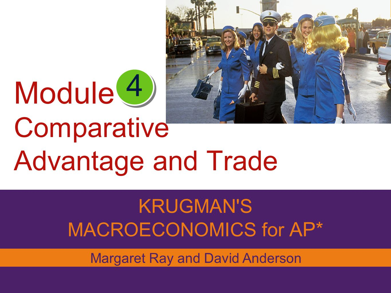 Module Comparative Advantage and Trade