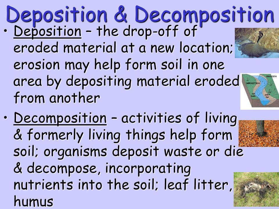 Deposition & Decomposition