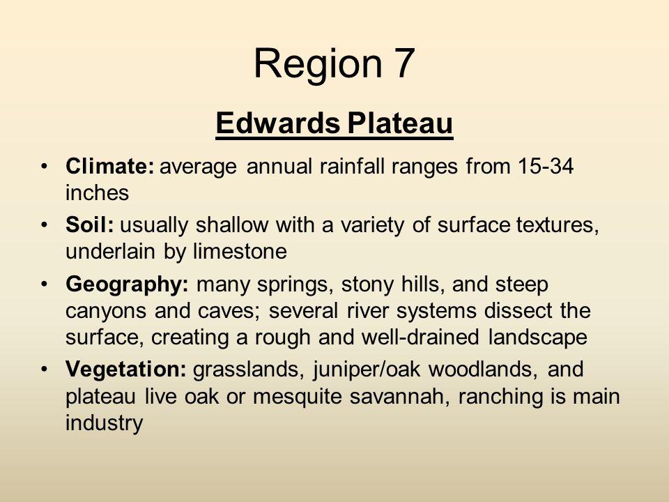 Region 7 Edwards Plateau