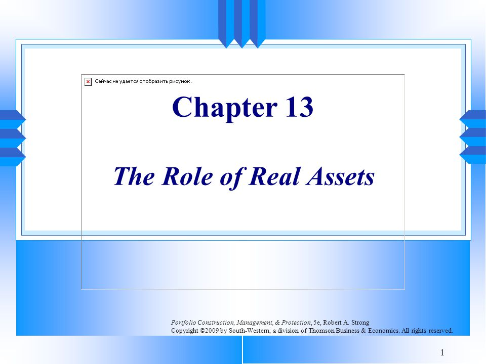 Chapter 13 The Role of Real Assets
