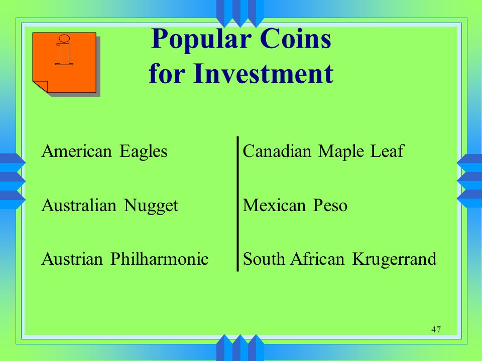 Popular Coins for Investment
