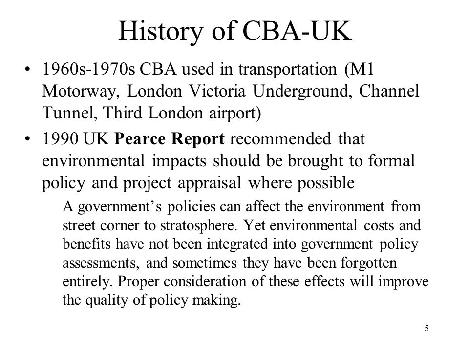 History of CBA-UK 1960s-1970s CBA used in transportation (M1 Motorway, London Victoria Underground, Channel Tunnel, Third London airport)