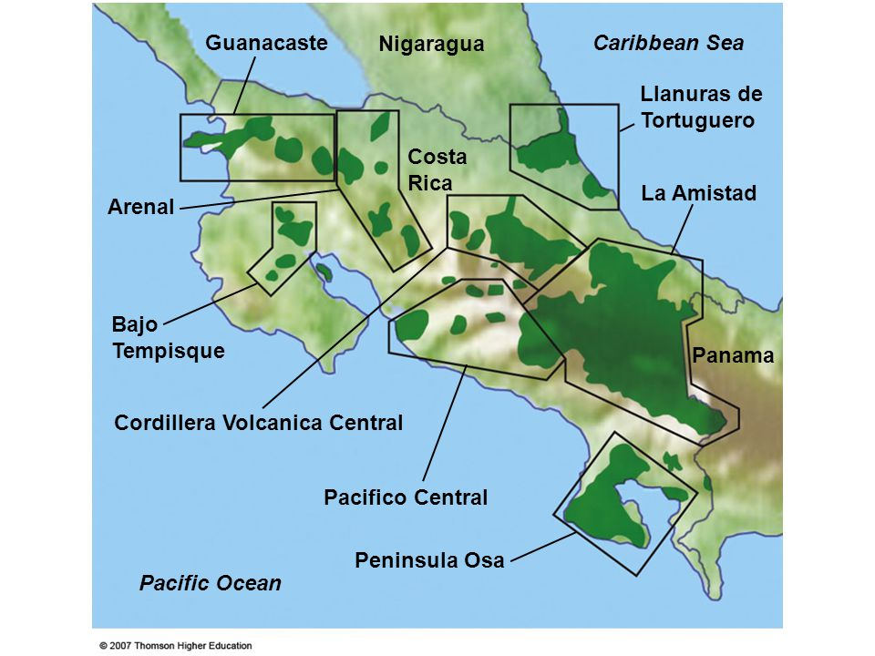 Cordillera Volcanica Central