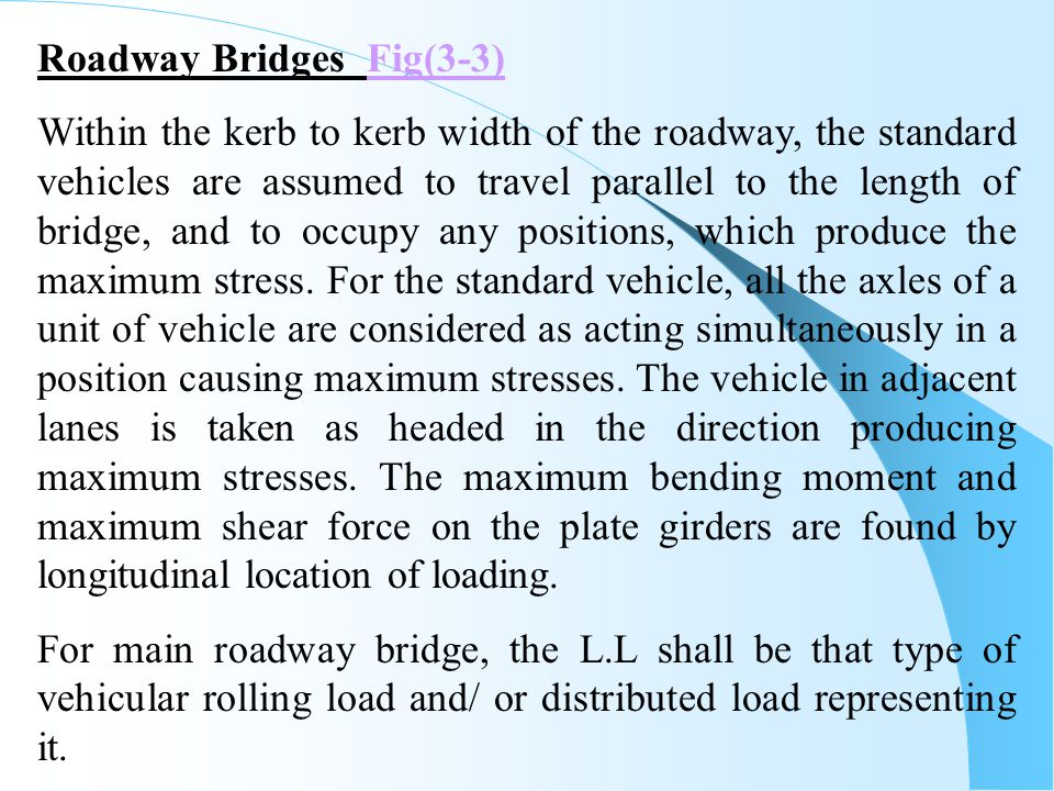 Roadway Bridges Fig(3-3)