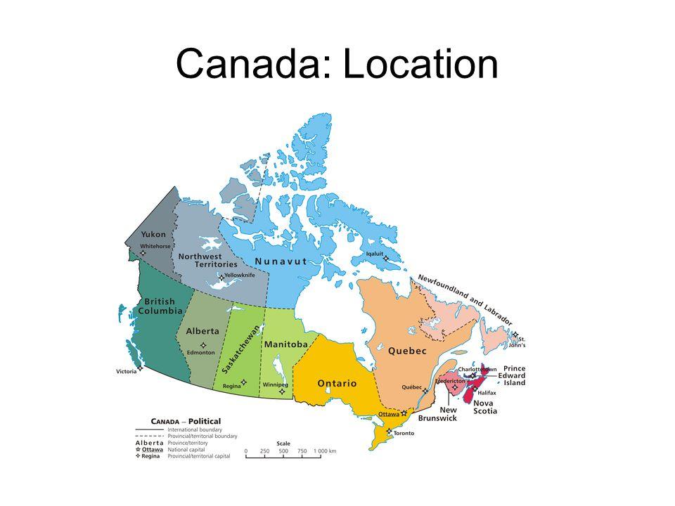 Canada: Location