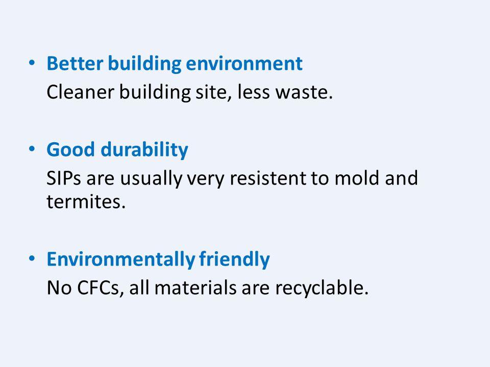 Better building environment