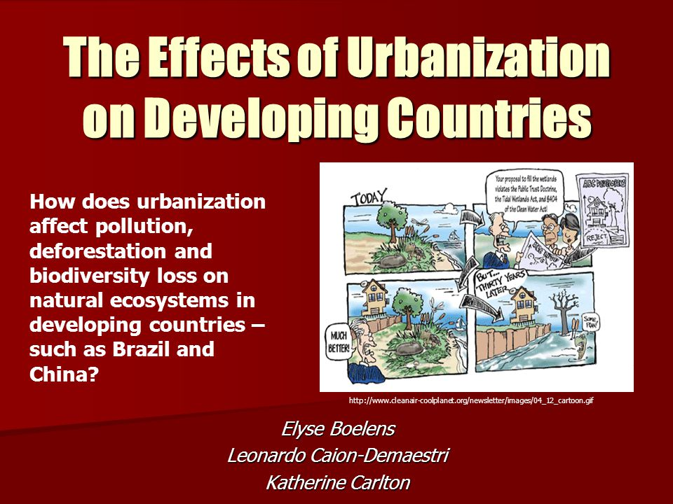 effects of urbanization in jamaica Facts and statistics about the urbanization of jamaica updated as of 2018.