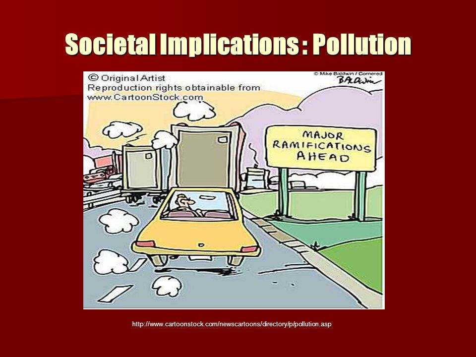 Societal Implications : Pollution