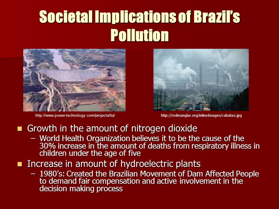 Societal Implications of Brazil's Pollution