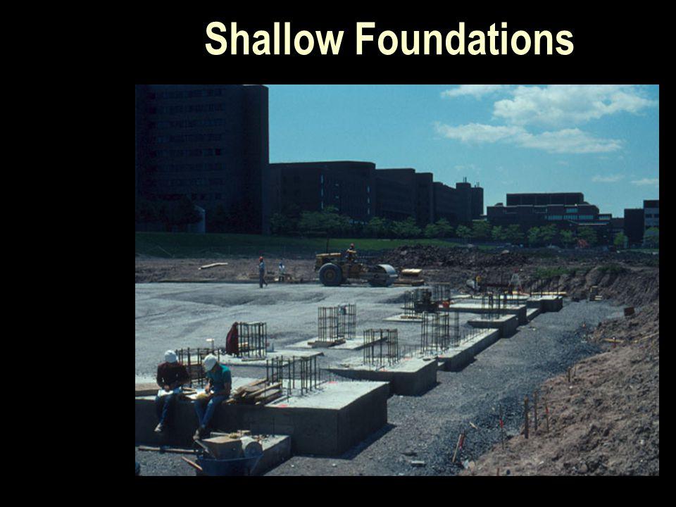 Shallow Foundations