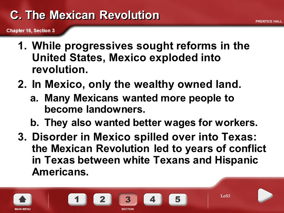 C. The Mexican Revolution