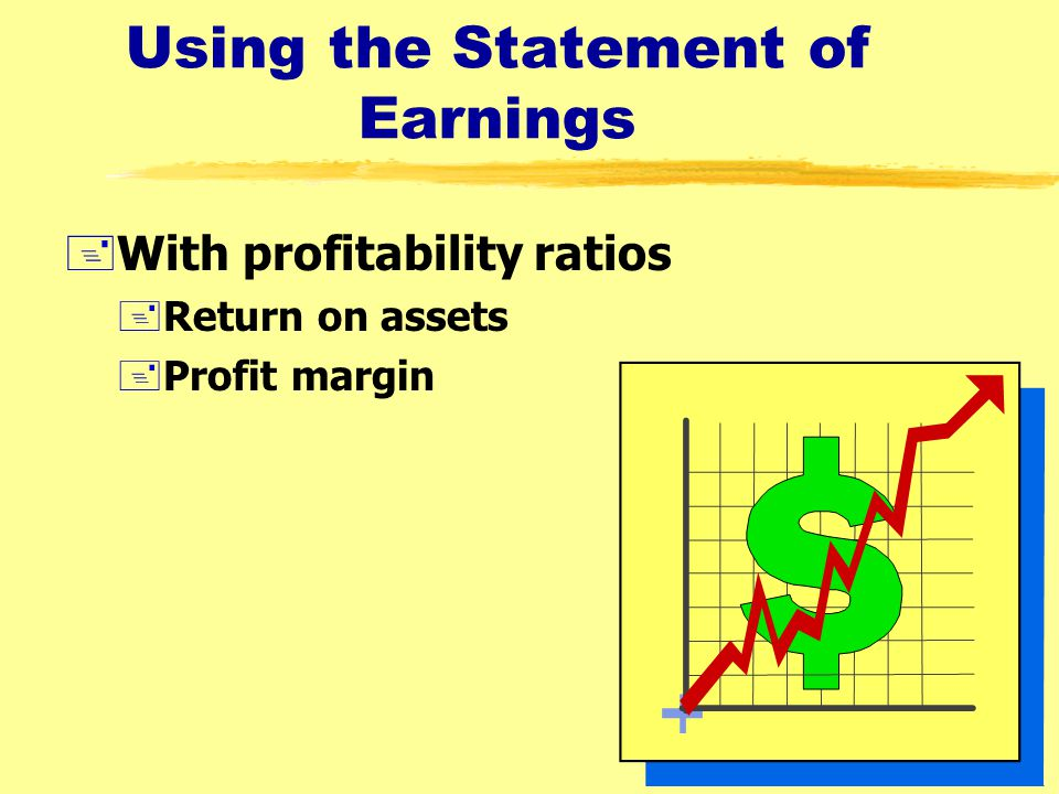 Using the Statement of Earnings