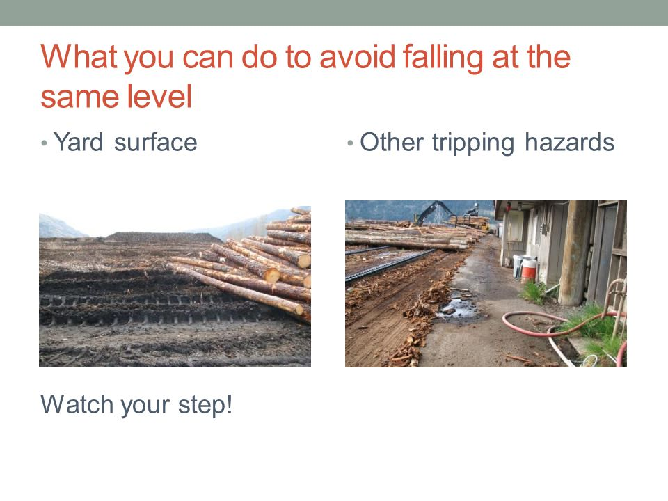 What you can do to avoid falling at the same level