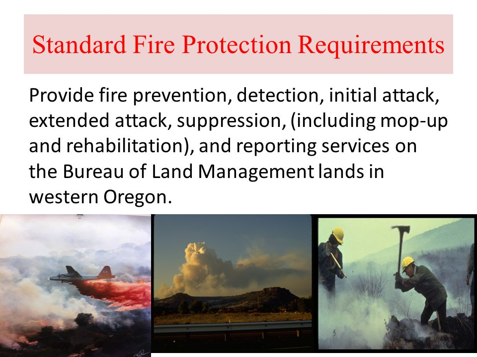 Standard Fire Protection Requirements