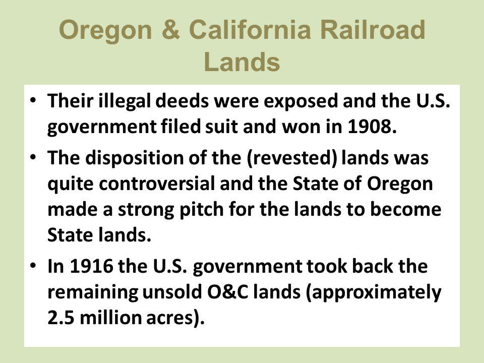 Oregon & California Railroad Lands