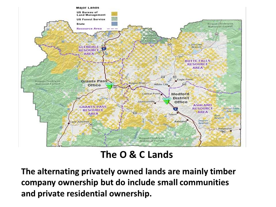 The O & C Lands