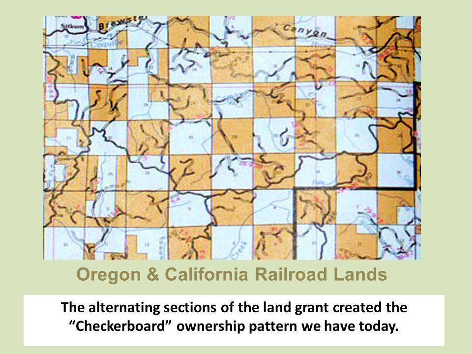 Oregon & California Railroad Lands