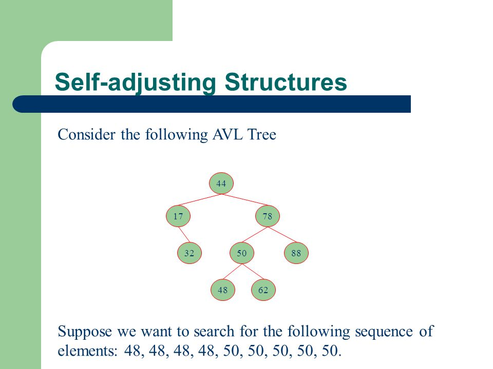 Self-adjusting Structures