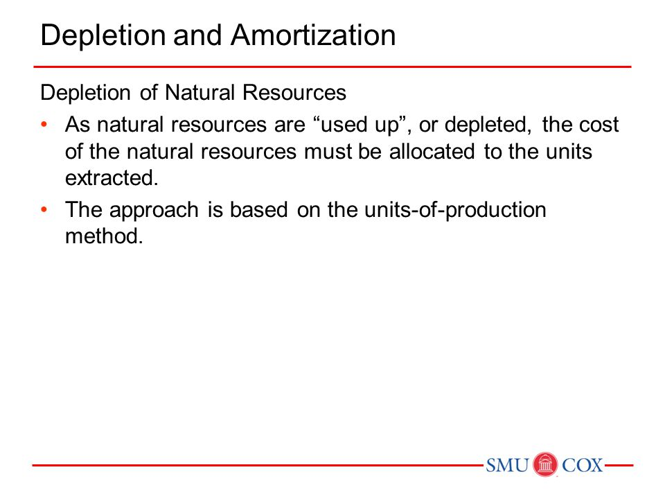 Depletion and Amortization