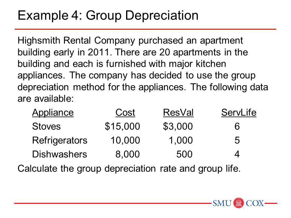 Acct class 22 chapter 11 depreciation depletion and for Apartment building cost calculator