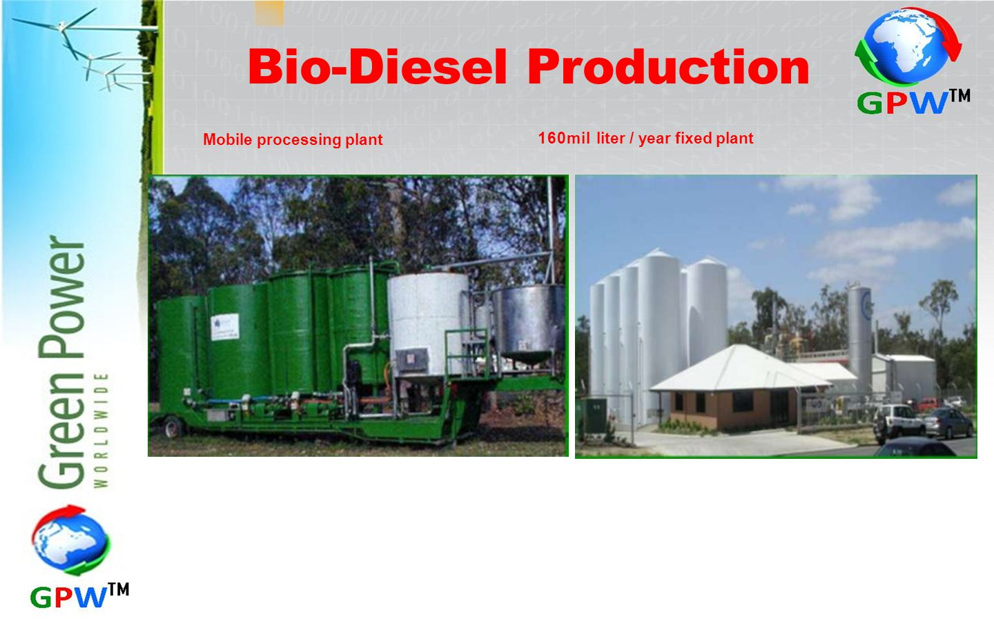 Bio-Diesel Production