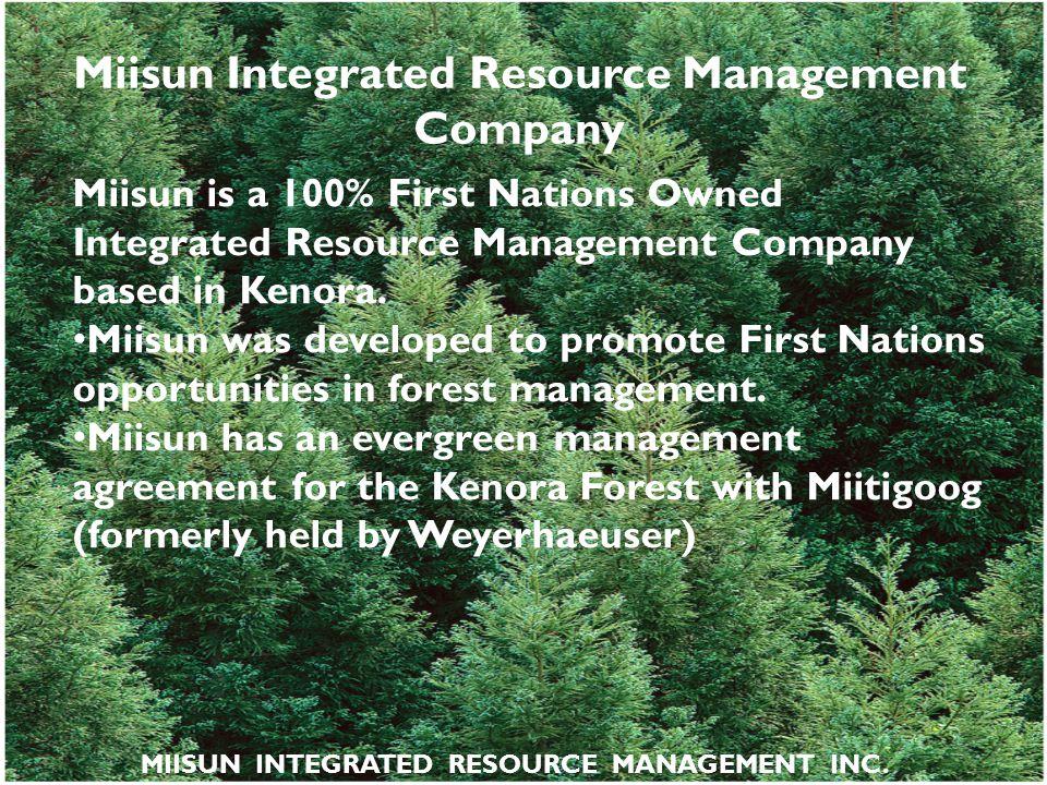 Miisun Integrated Resource Management Company