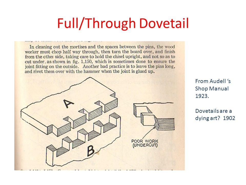 Full/Through Dovetail