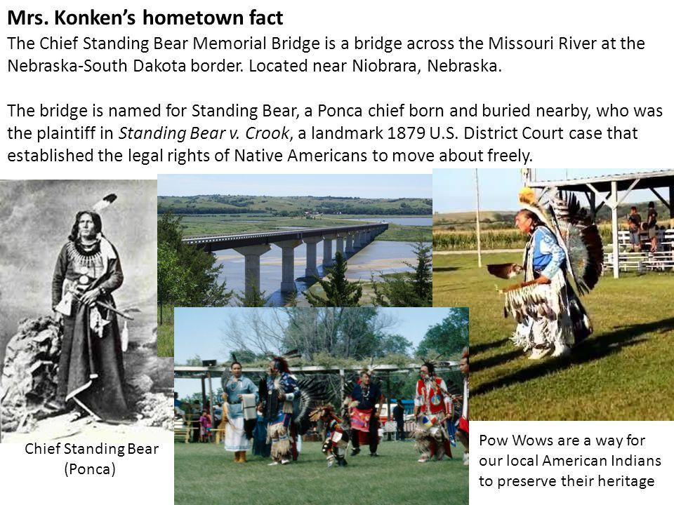 Mrs. Konken's hometown fact