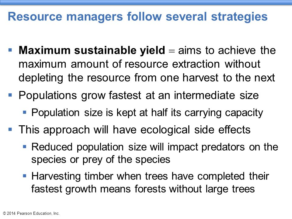 Resource managers follow several strategies