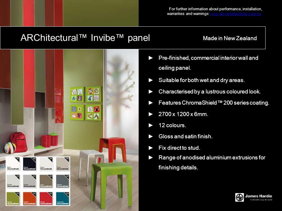 ARChitectural™ Invibe™ panel