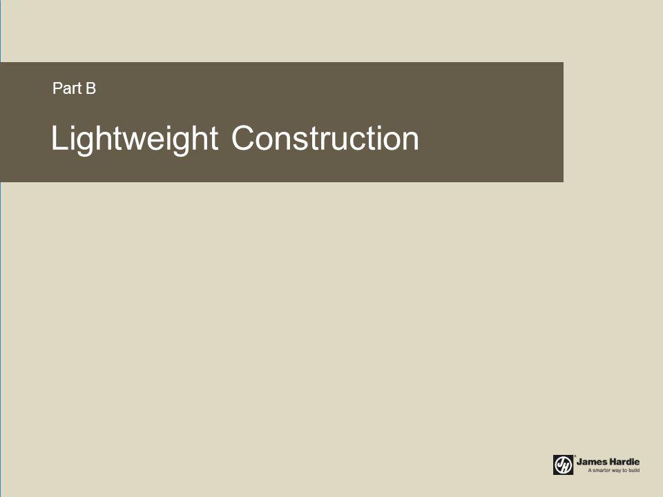 Lightweight Construction