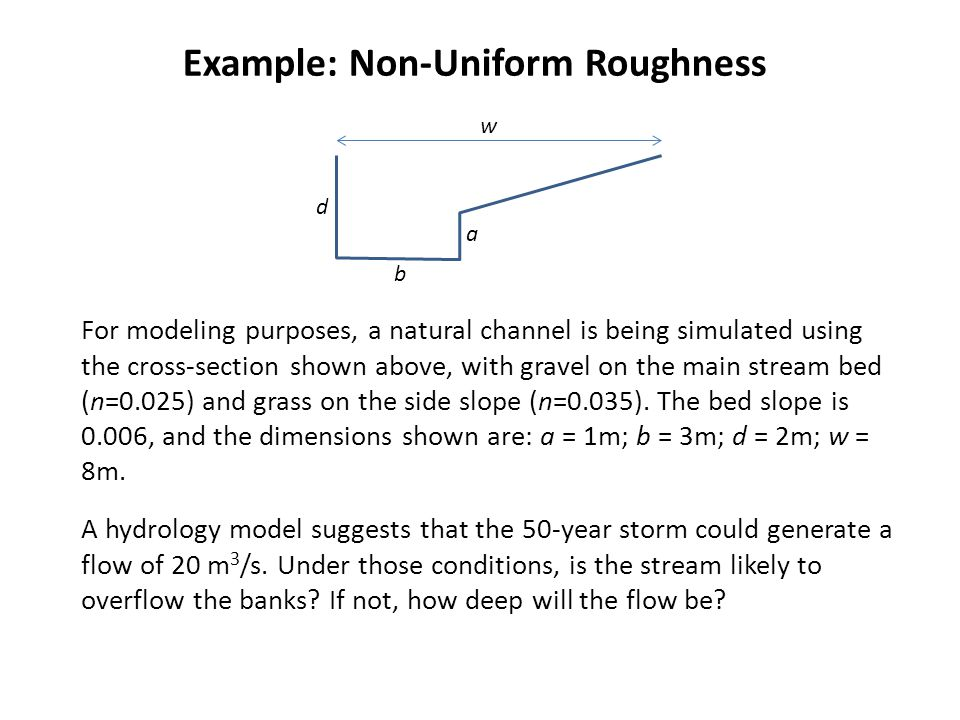 Example: Non-Uniform Roughness
